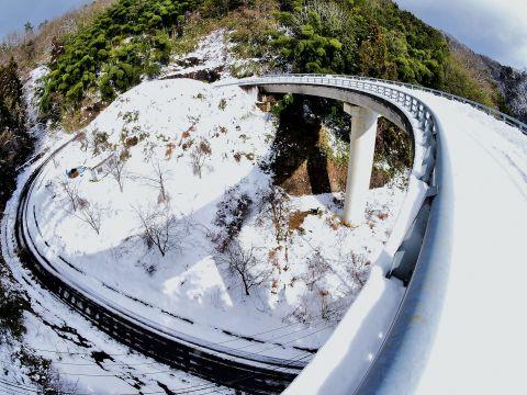 森山のループ橋